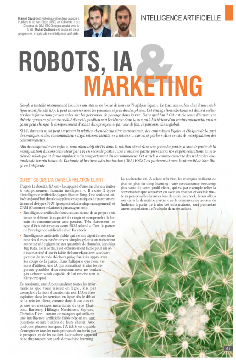 Robots, IA & Marketing 2