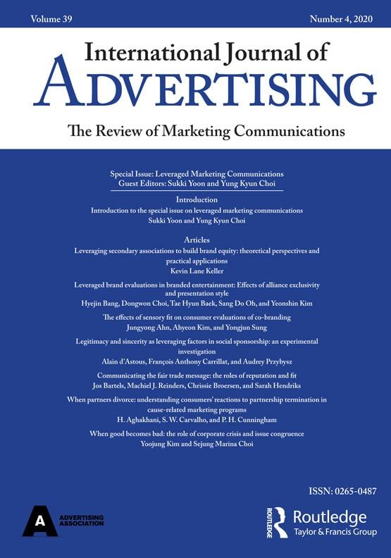 International journal of advertising 2